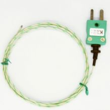 Glassfibre Exposed Junction Wire Thermocouple 350°C